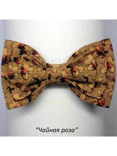 Галстук-бабочка ЧАЙНАЯ РОЗА
