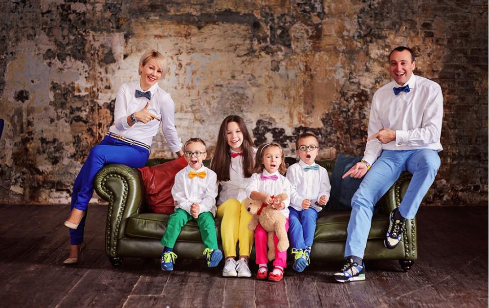 Стиль единства и семейной гармонии - family look