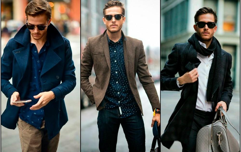 Мужская мода зима 2018