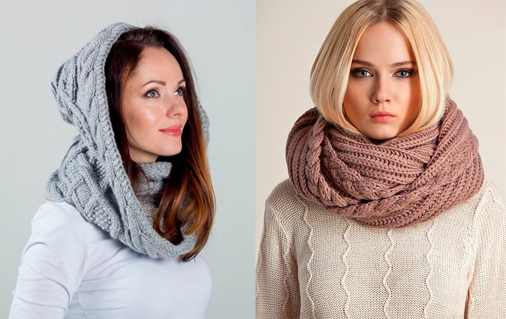 Модные шарфы для зимы и лета 2019