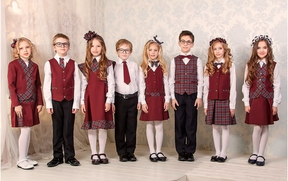 Стильная школьная форма