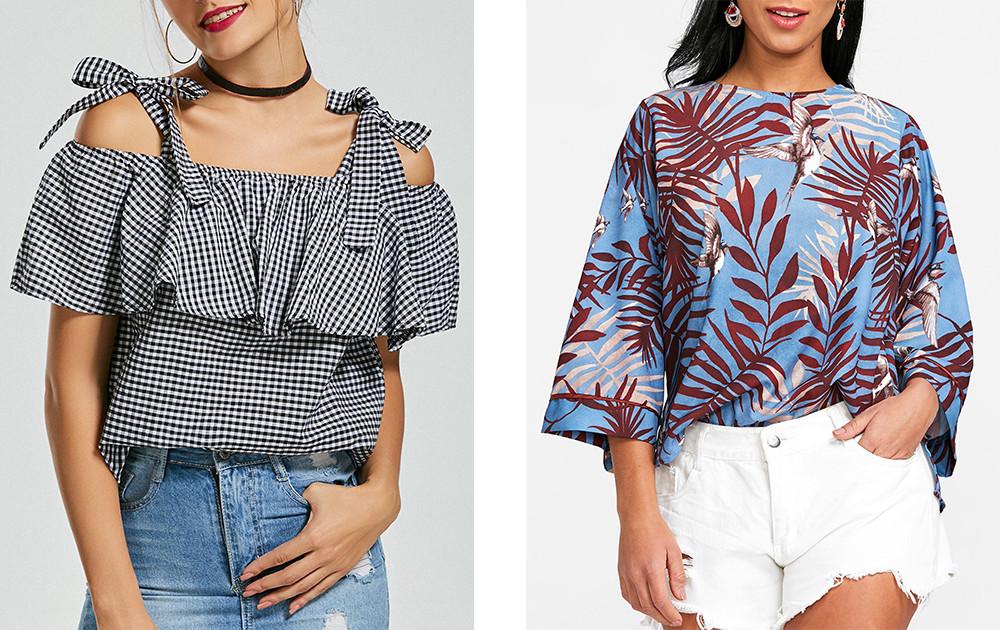 Блузка модно, стильно, универсально