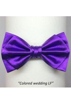 Галстук-бабочка ФИОЛЕТОВАЯ свадебная