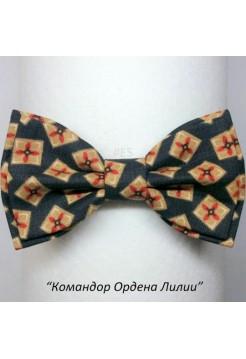 Галстук-бабочка КОМАНДОР ОРДЕНА ЛИЛИИ