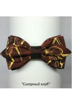 Галстук-бабочка СИГАРНЫЙ КЛУБ